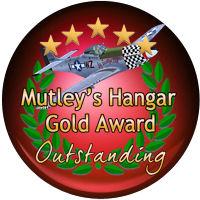 Mutley's Hangar Gold Award