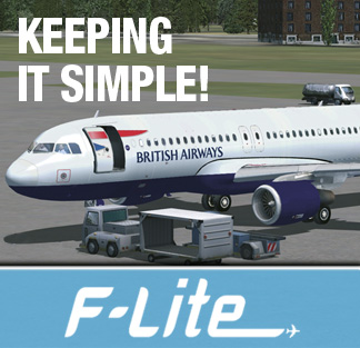 Keeping it Simple, with our F-Lite range of aircraft