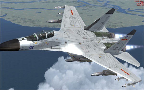 J-11B Flanker update March 2013
